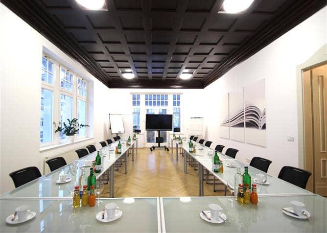 Tagungsräume in Leipzig im Überblick des Tagungshotels