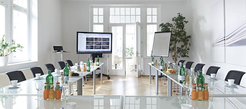 Große Konferenzräume – Tagungsvilla Trufanow